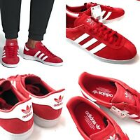 Men's Adidas Originals Munchen Casual Training Sneakers Shoes B96497 Red Size 9