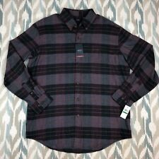 Arrow Men's Shirt Classic Long Sleeve Botton Down Size Large