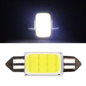 2x White Festoon Interior Dome LED Light Auto Car Ceiling Lamp Bulbs Car Parts
