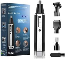 Nose and Ear Hair Trimmer-Professional USB Rechargeable Nose Hair Trimmer