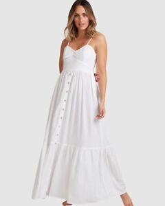 BNWT BILLABONG LADIES NEW SEASON FRANCA MAXI DRESS (MEDIUM) SIZE 10 $99.99