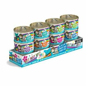 Weruva B.F.F. OMG - (2.8-Ounce Can (Pack of 12) Rainbow Road Can Variety Pack)