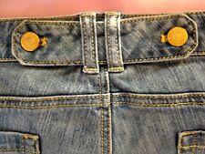 New York & Co. boho big leg flare jeans Sz 14 cotton-Spandex