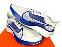 NIB SIZES 8.5 9 9.5 10 10.5 MEN Nike Zoom Gravity Running Shoes White Racer Blue
