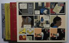 CHRIS WARE JIMMY CORRIGAN COFFRET 3 VOLUMES PRESSPOP INC. JAPON • TIRAGE 300 EX.
