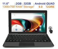 "RCA 11.6"" 2GB RAM 32GB Quad Core IPS Touch Screen Android 9.0 (1 Year Warranty)"