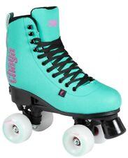 New Chaya Bliss Teal & Black Adjustable Quad Indoor / Outdoor Roller Skates
