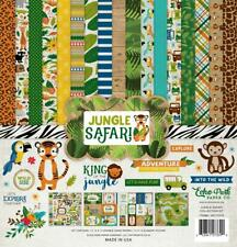 Echo Park Jungle Safari 12x12 Collection Kit Zoo Wild Adventure JS117016