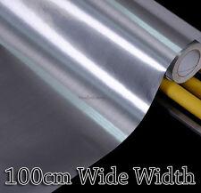 Silver Metallic Contact Paper Wallpaper Vinyl Self Adhesive 100cm Wide Width