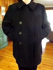 Original Korean War Era US Navy 8 Button Medium Pea Coat Good Condition