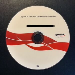 YouCam 9 Deluxe Version Software Upgrade CD (Upgrade From V7 or V8)