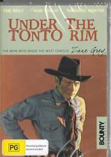 UNDER THE TONTO RIM - ZANE GREY - NEW & SEALED R4 DVD FREE LOCAL POST