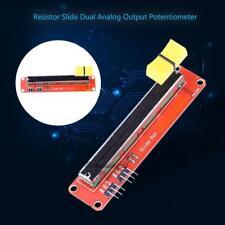 10K Dual Output Slide Potentiometer Linear Trim Pot Module for Arduino ARM AVR