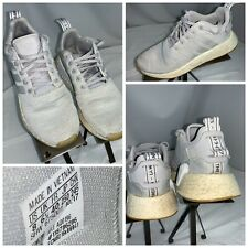 Adidas Alpha Bounce Shoes Sz 8 Men White Running Shoes EUC YGI F0S-46