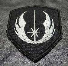 STAR WARS JEDI ORDER LOGO TACTICAL MORALE 3 INCH  HOOK PATCH