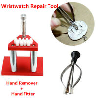 Professional Wrist Watch Plunger Puller Remover Lifter Hand Presser Fitter Tool
