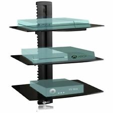 Floating Shelf Wall Mount TV Accessory Shelves DVD Cable Box Gaming Console NEW