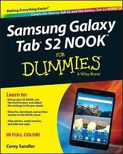 Samsung Galaxy Tab S2 NOOK for Dummies by Corey Sandler (2015, Paperback)