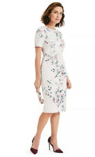 Bnwt PHASE EIGHT Size 16 UK Tea Rose Danni Floral Dress New Cocktail Wedding