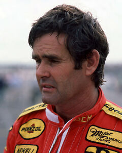 1985 Indy Racecar Driver AL UNSER Glossy 8x10 Photo Indianapolis 500 Print