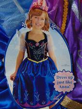 Disney Frozen Anna Dress up Costume 4 to 6x Disneyworld Vacation