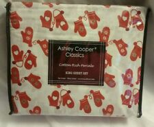 Ashley Cooper Classics King Size Bed Sheet Set.