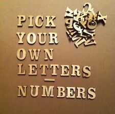 25 laser cut wooden Alphabet letters, craft shapes, woodwork, crafting