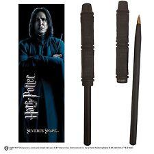 Severus Snape Wand Pen and Bookmark Gift Set Harry Potter Hogwarts Noble