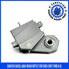 03-07 6.0L Ford Powerstroke Diesel Aluminum Degas Tank Coolant Bottle 3663-BL