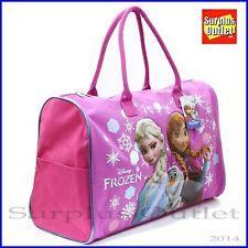 "Disney Frozen Elsa Anna Olaf Duffle Bag Travel GYM Bag Large Overnight Bag 20"""