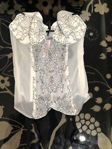 *NWT* Victoria's Secret Corset Lingerie - 34B - White - Bridal