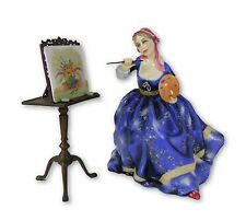 Royal Doulton Figure - Gentle Arts - Painting - Hn3012 - Made in England.