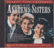 Best of the Andrews Sisters - Compilation CD (2000)