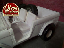 Olson Brothers Resin REARS ONLY Fender Flares for new 1/25 Revell Ford Bronco