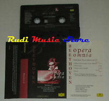 MC BEETHOVEN Sinfonia n.9 opera omnia 1996 eec FABBRI CLASSICA cd lp dvd