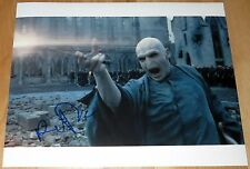 Ralph Fiennes Signed 11x14 Harry Potter Lord Voldemort Exact Proof