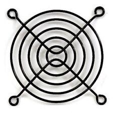 "Lot10 80mm/3""inch/8cm Metal Wire Box/Case Fan Grill/Finger Guard/Cover$SH{BLACK"