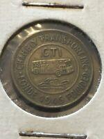 Vintage Token, CTI Quebec Transport Coin T16
