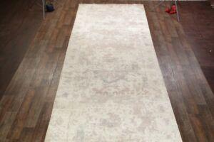 "100% Silk Palace Sized 7x31 Aubusson Oriental Area Rug Carpet 30' 8"" x 7' 1"""