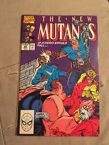 The New Mutants #89 Early Cable Appearance Rob Liefeld [Marvel Comics, 1990]