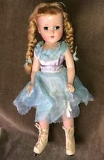 Hard Plastic R & B Arranbee 14� Ice Skater Doll