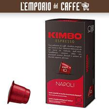 180 Capsule Caffe Kimbo Miscela Napoli Compatibili Sistema Nespresso cremoso