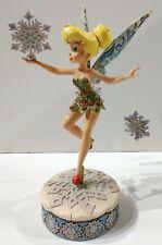 "Jim Shore Walt Disney Showcase Enesco 4008068 ""Tinker Bell's Winter Wonderland"""
