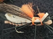Fly Fishing FLOATING FOAM SANDWICH HOPPERS Lures For Trout Pike Bass #74