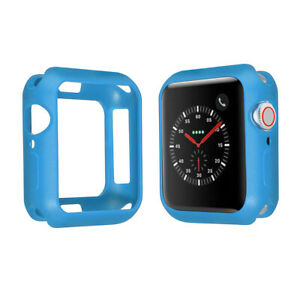 For Apple Watch Series 6 SE 5 4 3 2 Ultra Thin Soft TPU Case 38/40mm 42/44mm 91C