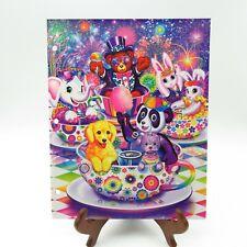 2014 Lisa Frank Folder All Star Celebration Sparkly Glitter 2 Pocket Folder