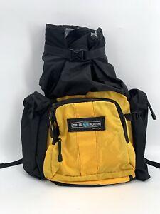Vtg 90's True North Seattle USA Hiking Lumbar Pack Belt Bag waist fanny