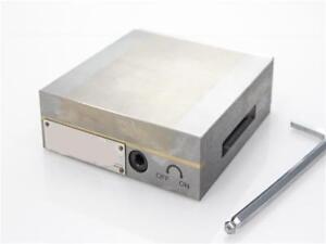 """Square Fine Pole Permanent Magnetic Chuck 6""""x6"""""""