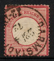 (SKRR 037) GERMANY 1872 USED Mich 9