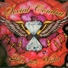 SOCIAL COMBAT Fiel Por Vida LP . hardcore oi punk motorhead ac/dc rose tattoo